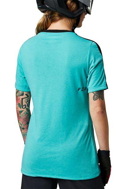 camiseta fox mujer ranger drirelease teal (1)