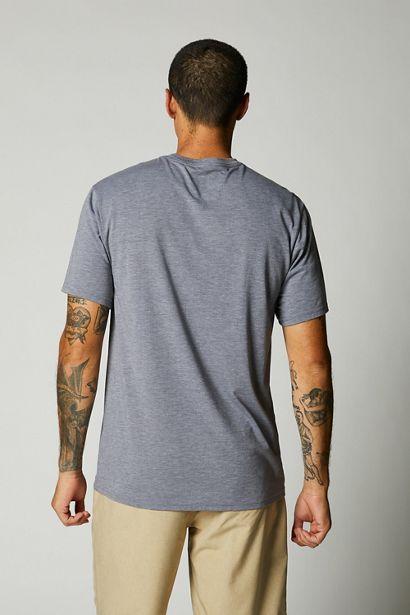 camiseta fox tech badge gris negra disponible en crosscountry shop (1)