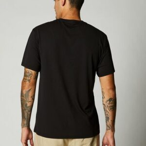 camiseta fox tech badge gris negra disponible en crosscountry shop (3)