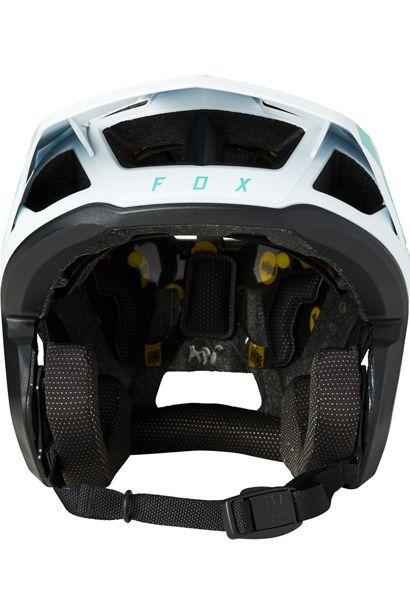 casco fox dropframe teal azul turquesa disponible en crosscountry shop madrid (1)