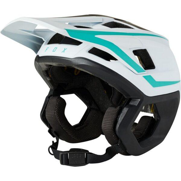 casco fox dropframe teal azul turquesa disponible en crosscountry shop madrid (2)
