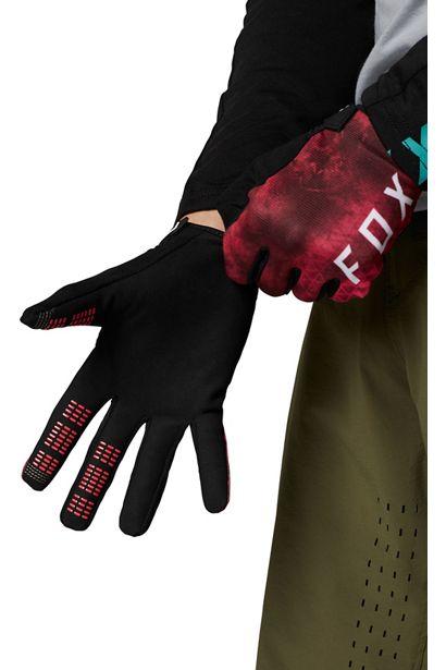 guante fox para bici modelo ranger azul turquesa o rosa disponible en crosscountry (3)