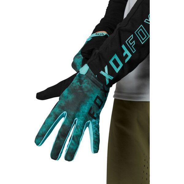 guante fox para bici modelo ranger azul turquesa o rosa disponible en crosscountry (4)