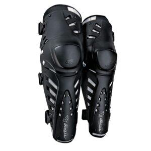 rodilelras fox titan pro negras las mejores rodilleras articuladads del mercado calidad precio disponibles en crosscountry