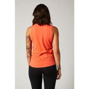 camiseta de mujer fox tirantes Born and raised coral (3)