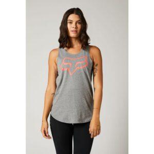 camiseta fox de tirantes para mujer Boundary gris (2)