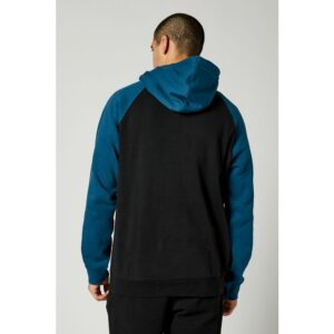 sudadera fox hombre emblem raglan azul y amarilla fluor en rebajas crosscountry shop madrid (1)