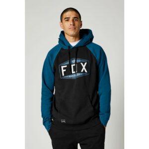 sudadera fox hombre emblem raglan azul y amarilla fluor en rebajas crosscountry shop madrid (4)