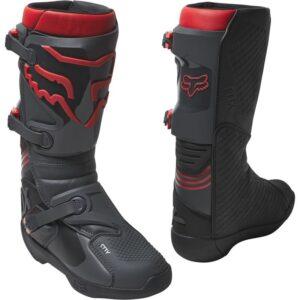 botas Fox Comp negras rojas madrid baratas (2)