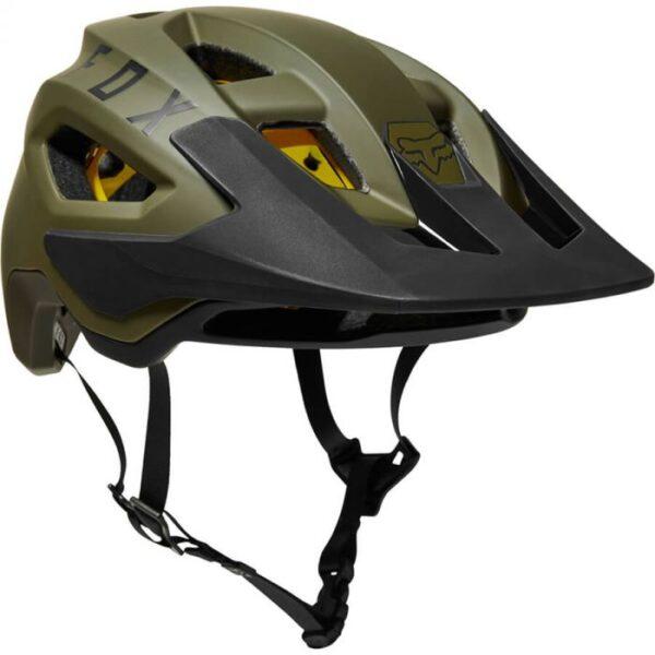 casco fox speedframe verde negro nueva coleccion mtb fox invierno 2021 (3)