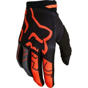 guantes Fox 180 Skell naranja madrid (2)
