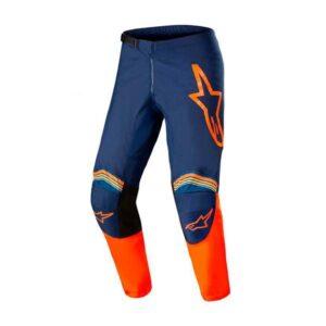 Pantalon-Alpinestars-Fluid-Speed-Azul-Naranja-2022-1
