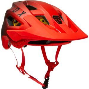 casco fox speedframe MIPS flo red (2)