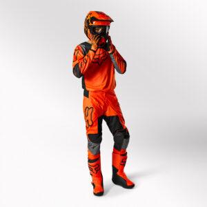 traje Fox 180 Lux naranja