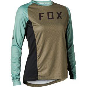 camistea mujer Fox Defend manga larga (4)