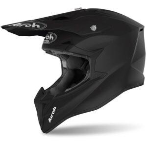 casco airoh motocross enduro wraap raze negro mate disponible en crosscountry shop madrid (1)