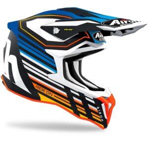 casco airoh stryker shaded azul mate dipsonible en crosscountry shop madrid (1)