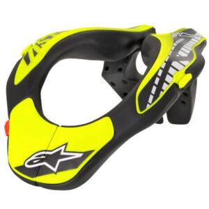 collarin alpinestars niño amarillo negro de motocross o mtb bici disponible en crosscountry shop madrid (2)
