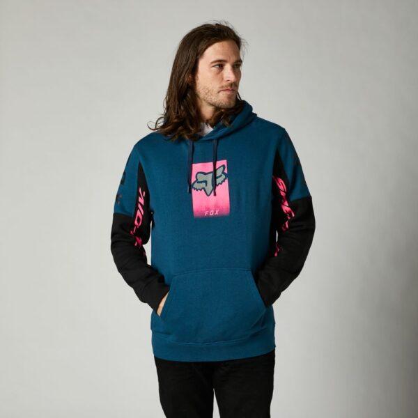 sudadera Fox Dier pullover fleece azul rosa (2)